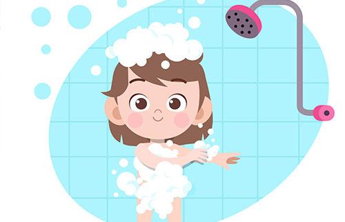 白癜风患者正确沐浴的方法