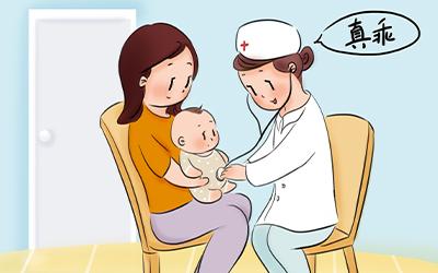 四个月小孩额头腰上有白点是什么